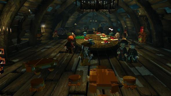 Изображение 15. Компания Disney выпустила игру «LEGO Пираты Карибского Моря».. Изображение № 14.