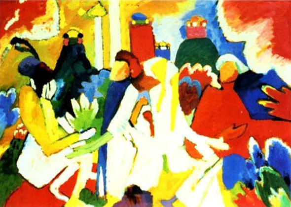 Коллекция работ В.В. Кандинского. Изображение № 82.