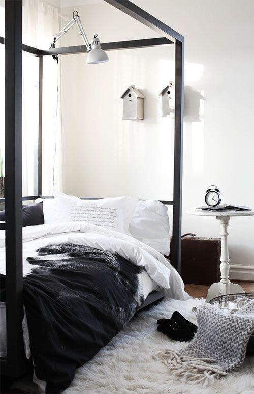 Black&white - 33 красивейших интерьера черно-белой гаммы. Изображение № 5.