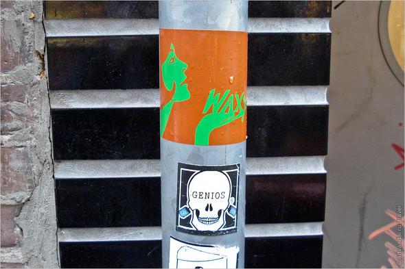 Стрит-арт и граффити Амстердама, Нидерланды. Изображение № 26.