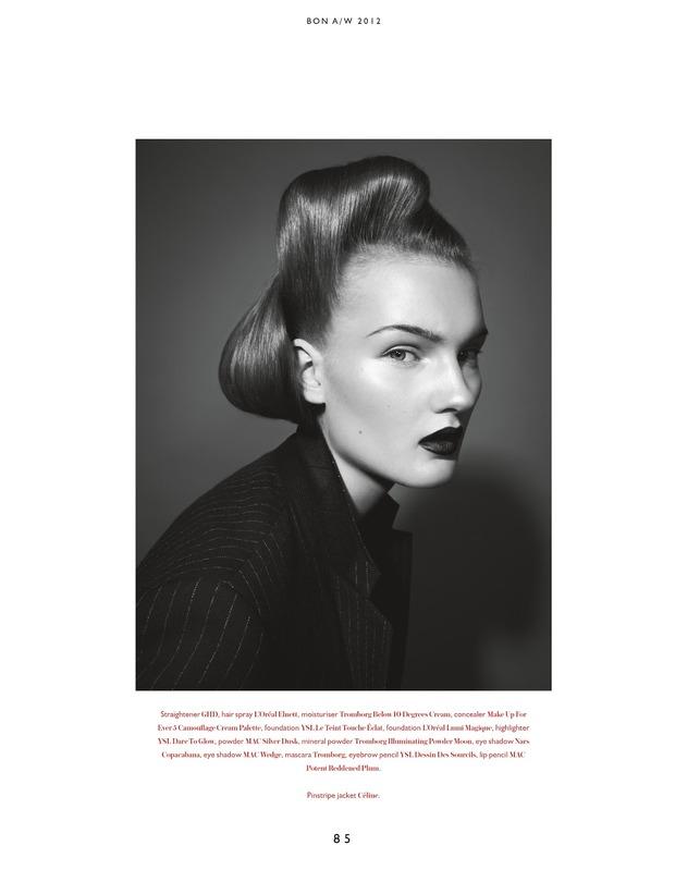 Вышли новые съемки из Bon, Flair, Vogue и других журналов. Изображение № 7.