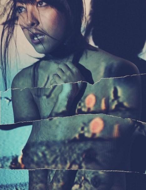 Оригинальная фотосессиия, красивой модели Elle V от фотографа Mariana . Изображение № 4.