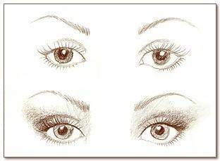 Макияж глаз взависимости отих формы. Мастер-класс. Изображение № 5.