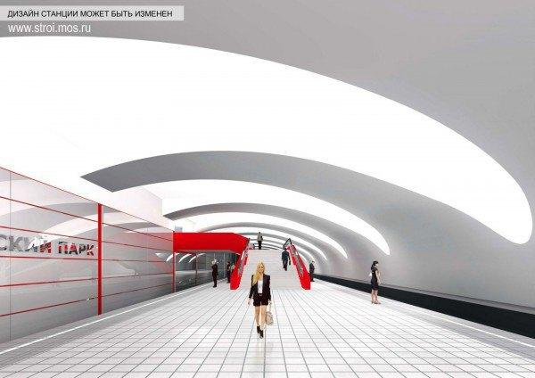 Опубликованы видеотуры по будущим станциям московского метро. Изображение № 12.
