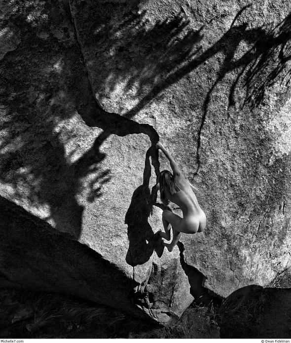 Dean Fidelman. Stone nudes. Изображение № 2.