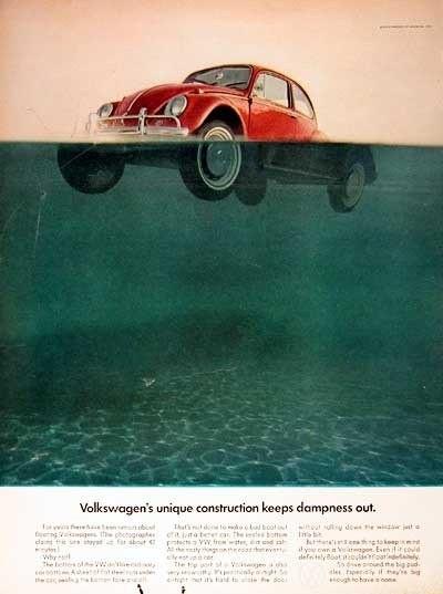 Эволюция рекламы Volkswagen. Изображение № 8.