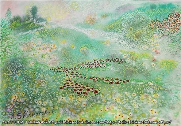Shinkarchuk Anatoly watercolor and Japan Шинкарчук Анатолий акварель и Япония. Изображение № 21.