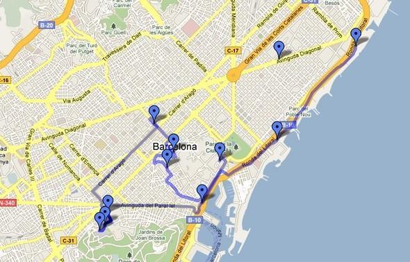 Изображение 1. Барселона: общественные пространства.. Изображение № 3.