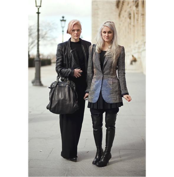 Луки с Недели моды в Париже. Изображение № 76.