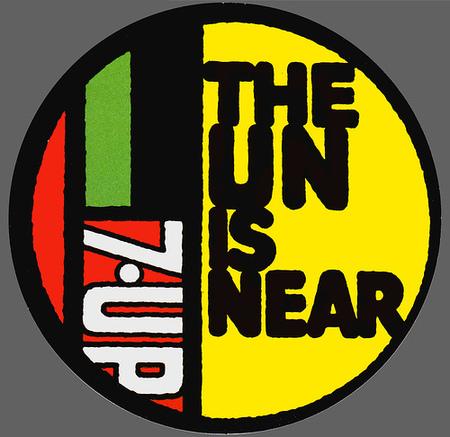 Графика 70-х thegreat hippie 7Up. Изображение № 6.