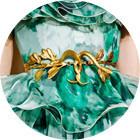 Кутюр в деталях: Перья, золото и бабочки на показе Giambattista Valli. Изображение № 2.
