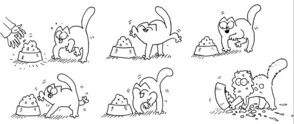 Новые подвиги самого знаменитого эгоиста – кота Саймона. Изображение № 1.