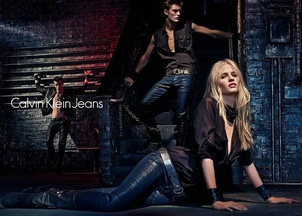 Calvin Klein Jeans Осень-Зима 2012: Liquid Metal. Изображение № 5.