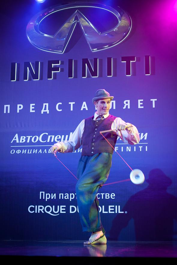 Cirque du Soleil на открытии дилерского центра INFINITI. Изображение № 9.