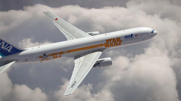 Авиакомпания показала перекраску самолёта под R2-D2. Изображение № 11.