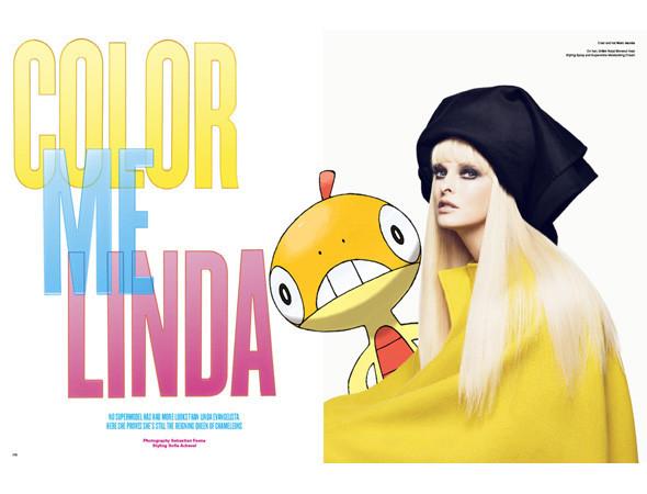 Фэшн-иллюстрация: Мода и покемоны. Изображение № 4.