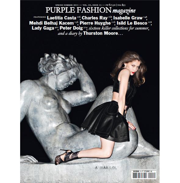 Изображение 1. Обложки: Dazed & Confused, Purple Fashion, Love и другие.. Изображение № 5.