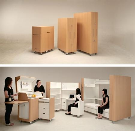 Мебель-трансформер. Изображение № 1.