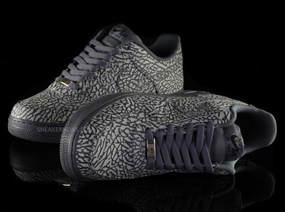 Nike Air Force 1 iD Elephant Print – Sneaker News Editions. Изображение № 5.