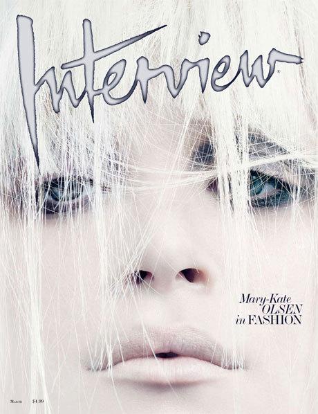 Mary-Kate Olsen вмартовском Interview. Изображение № 1.