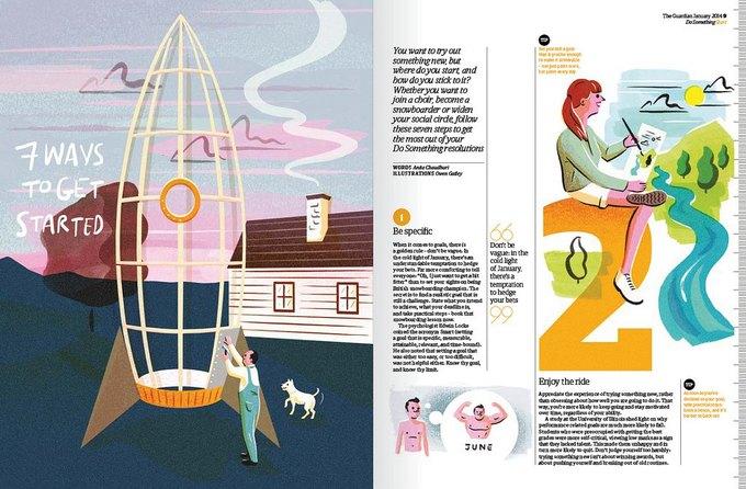 The Guardian запустила дополнение Do something. Изображение № 5.