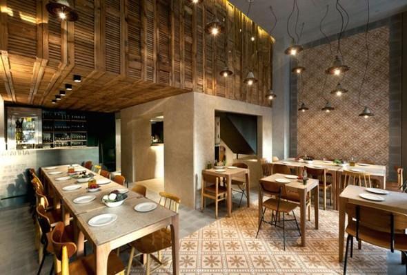 Место есть: Новые рестораны в главных городах мира. Изображение № 119.