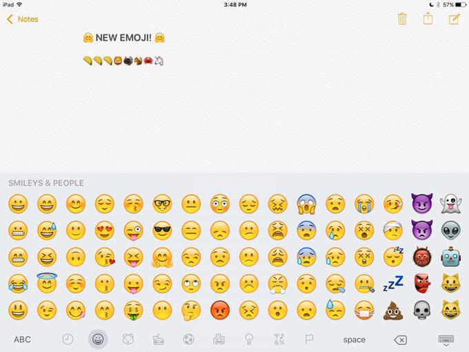 В iOS 9.1 появятся новые эмодзи . Изображение № 1.