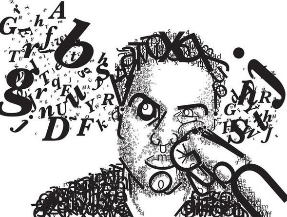 Портреты в типографике. Изображение № 39.