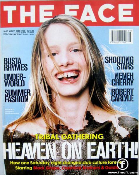 Обложка The Face, 1997. Изображение № 11.