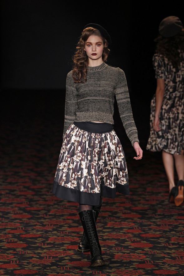 Berlin Fashion Week A/W 2012: Lena Hoschek. Изображение № 56.