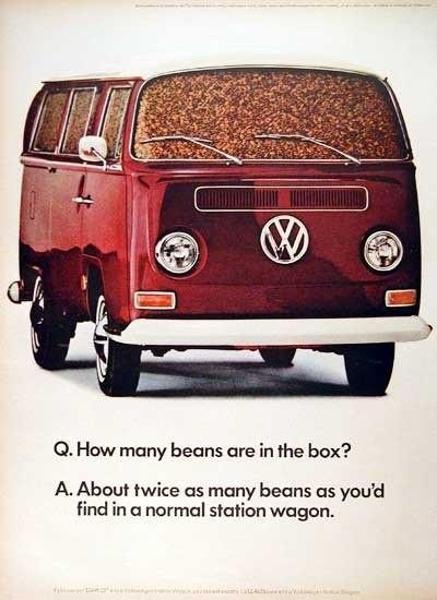 Эволюция рекламы Volkswagen. Изображение № 4.