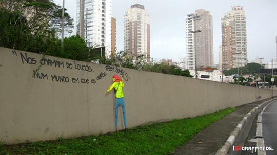 Граффити художники Os Gmeos о творческом пути. Изображение № 21.