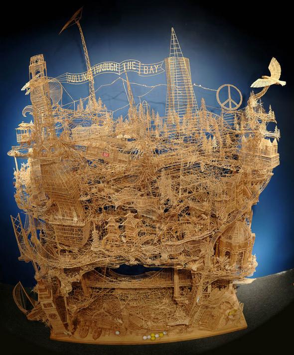 Изображение 2. 35 лет труда: уникальная работа Kinetic San Francisco.. Изображение № 1.