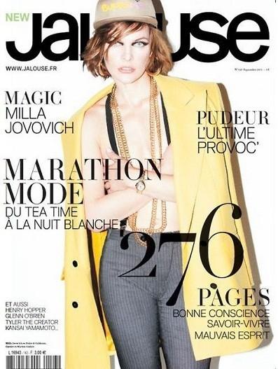 15 обложек с вещами из коллекции Dolce & Gabbana FW 2011. Изображение № 15.
