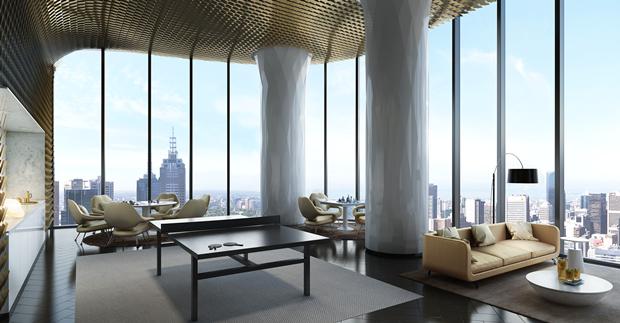 Бюро представило вдохновлённый клипом Бейонсе небоскрёб. Изображение № 18.