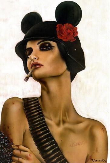 Brian M. Viveros - Американский художник. Изображение № 25.