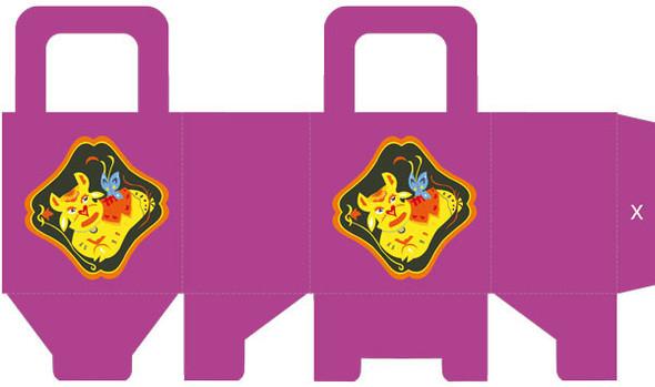 Упаковка для подарка по гороскопу. Изображение № 1.