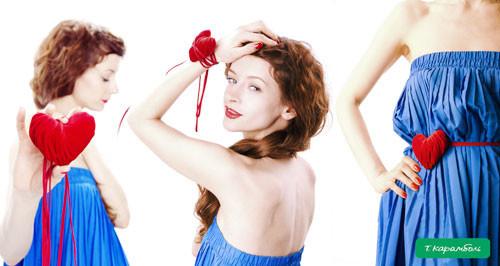 Красные акценты от украинского дизайнера Т.Карамболь.. Изображение № 1.