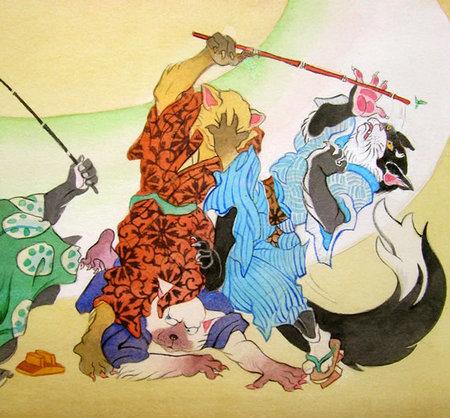 Звериная Япония Мойры Хан. Изображение № 13.