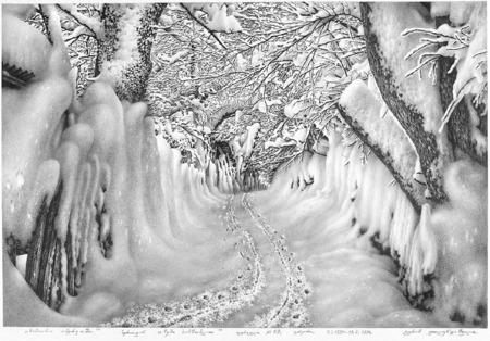 Нарисованный снег, который можно потрогать. Изображение № 3.