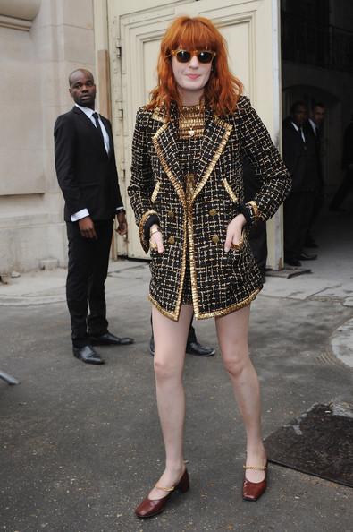 Флоренс Уэлш в Chanel . Изображение № 3.