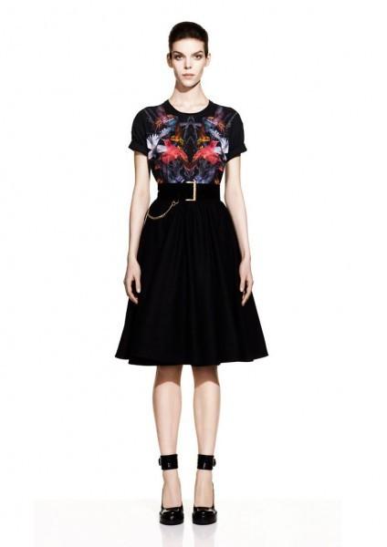 McQueen Fall 2012 Lookbook. Изображение № 18.