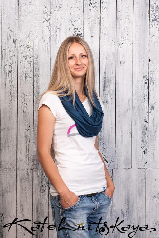 Осенняя коллекция ярких шарфов-снудов. Изображение № 7.