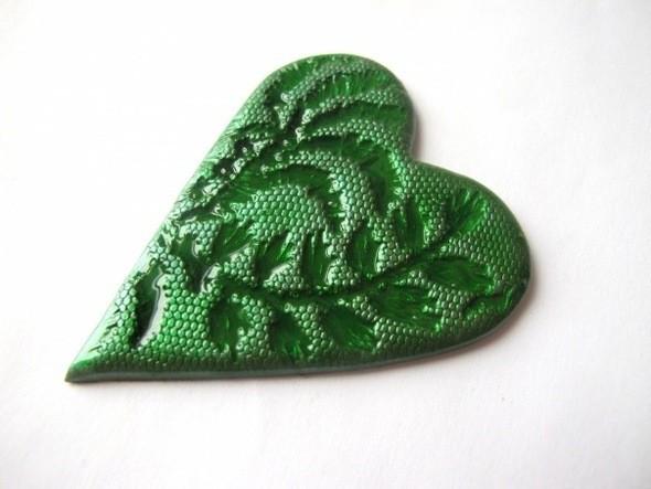 Изображение 2. Валентинки-магнитики из пластики.. Изображение № 2.