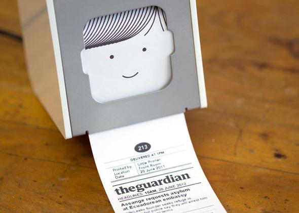 Принтер для твитов и новостей наконец можно купить. Изображение №2.