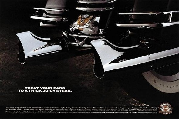 Harley Davidson: реклама легенды. Изображение № 11.