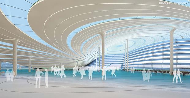 Архитектура дня: объединённые водно целое 4павильона. Изображение № 6.