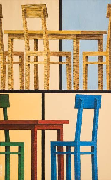 Куаныш Базаргалиев. Столы истулья. Изображение № 8.
