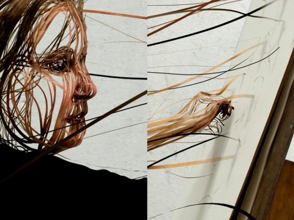 3D SCRIBBLED LINE PORTRAIT. Изображение № 7.