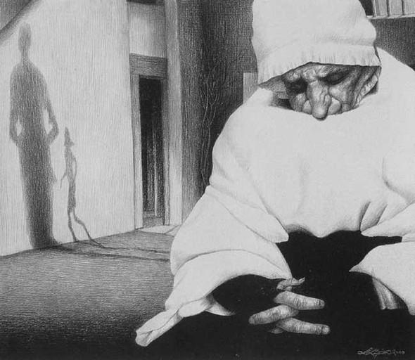 Laurie Lipton «Сюрреализм внутри нас». Изображение № 7.